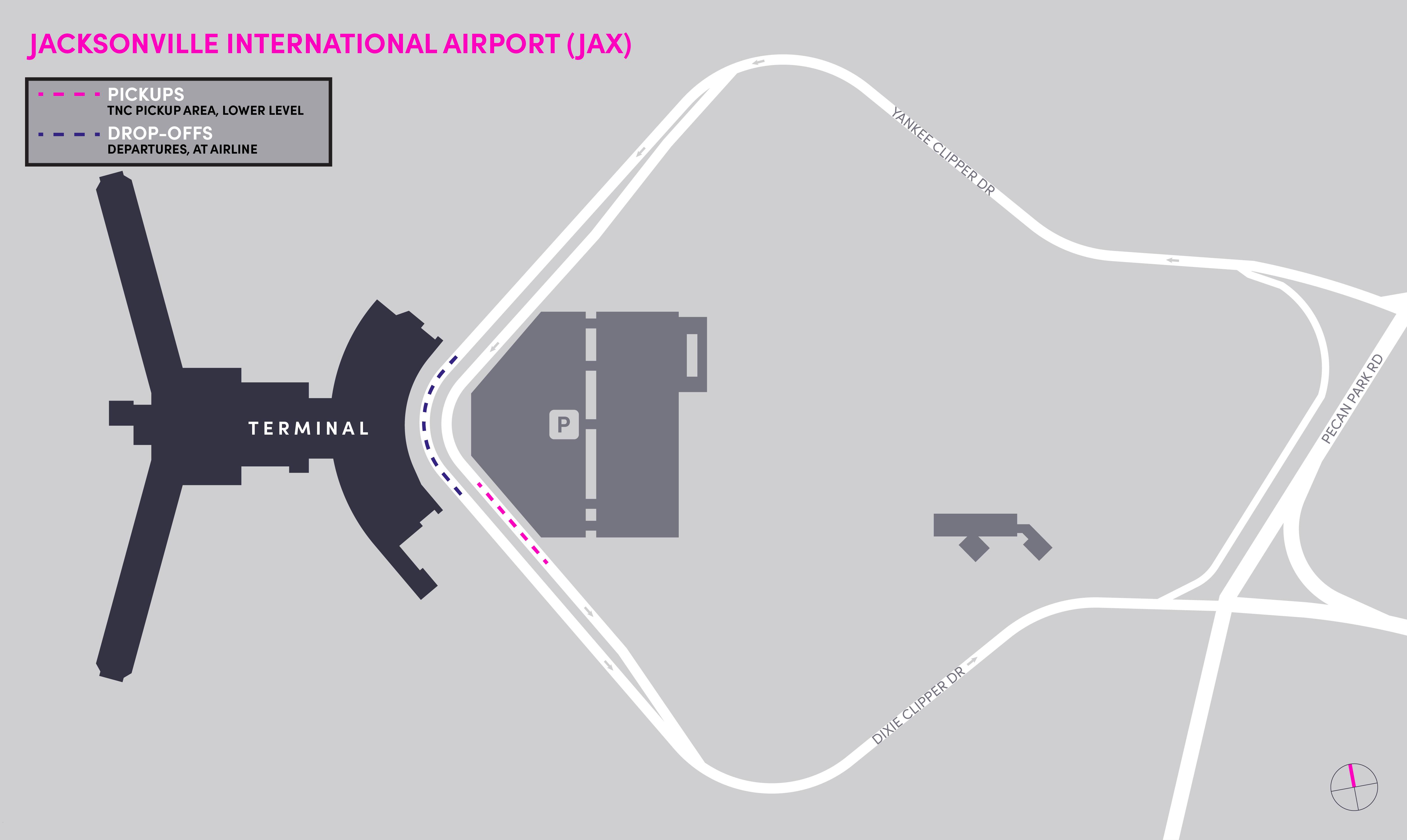 JAX Map